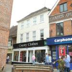 High Street, Reigate – Town Centre Investment, shop & upper two storey maisonette