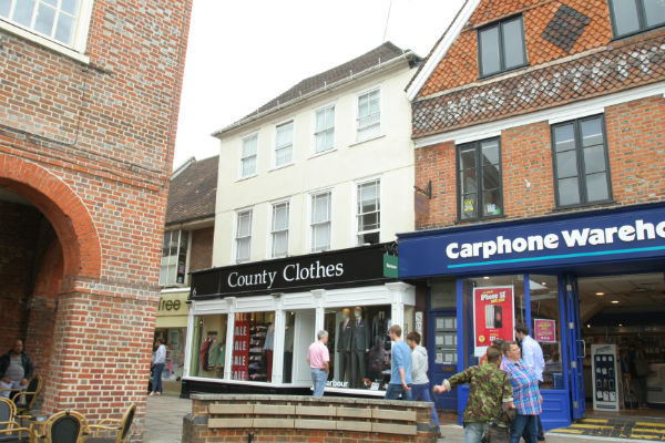 High Street, Reigate – Town Centre Investment, shop & upper two storey maisonette