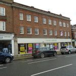 TRIPLE SHOP WITH BASEMENT STORES & PARKING – CHURCH STREET, REIGATE £59,500 pa